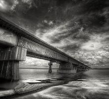 Mission river Bridge by jason owens