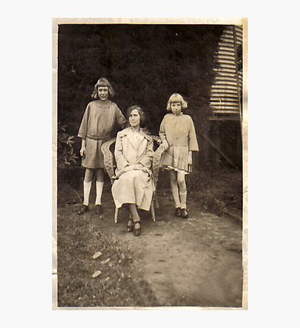 Grand Aunt Lilian Photographic Print