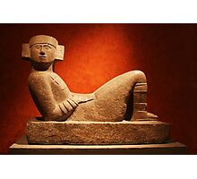 Chac Mool at the Anthropological Museum in Mexico City Photographic Print