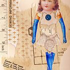 anatomy of a doll 8 by Thelma Van Rensburg