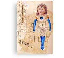 anatomy of a doll 8 Canvas Print