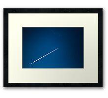 Jetstream Framed Print