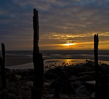 Pembrey Harbour Sunrise by Stephen Peters
