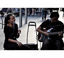 music is a feeling (3) Photographic Print