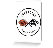 Chevrolet Corvette Greeting Card