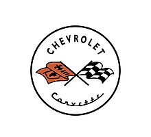 Chevrolet Corvette Photographic Print