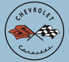 Chevrolet Corvette One Piece - Short Sleeve