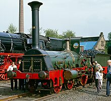 English & German steam locomotives. by David A. L. Davies