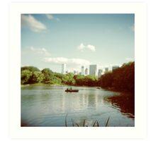 Central Park NYC - Holga Art Print