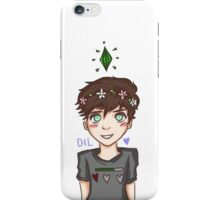 Dil Howlter iPhone Case/Skin