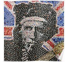 The Keith - Bottle Cap Mosaic Poster