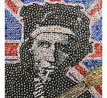The Keith - Bottle Cap Mosaic Photographic Print