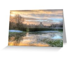 Misty HDR Greeting Card
