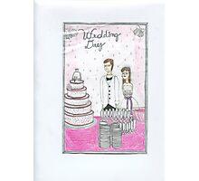 Wedding Day Photographic Print
