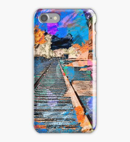 Tracking Through the Neighborhood iPhone Case/Skin