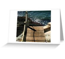 Walking the Plank Greeting Card