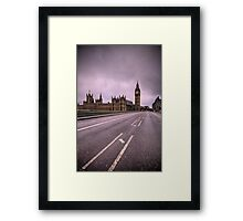 Desolate London Framed Print
