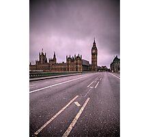 Desolate London Photographic Print
