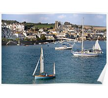 Salcombe from East Portlemouth Poster