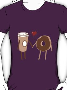 Coffee Loves Donut T-Shirt
