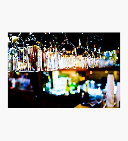 Bar Scene Photographic Print