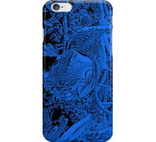Nautilus in Blue iPhone Case/Skin