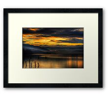 Golden Hour on Loch Ness Framed Print