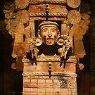 Hand carved wooden Mayan Art by Atanas Bozhikov NASKO
