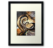 Hereditary Traits Abstract Framed Print