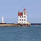 Lorain West Breakwater Lighthouse by Jack Ryan