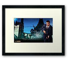 L.S.Noire Michael Framed Print