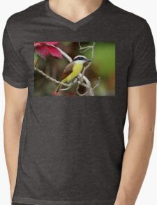 Great Kiskadee Mens V-Neck T-Shirt