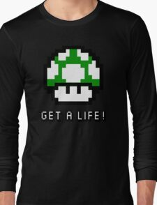 Mario Mushroom Get A Life T-Shirt