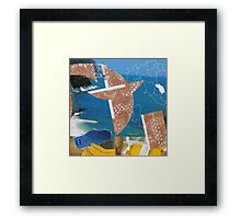 Collage Italy-Italie Inspiration Trip-Voyage by CHAUSSÉ Framed Print