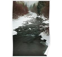 Winter River Poster