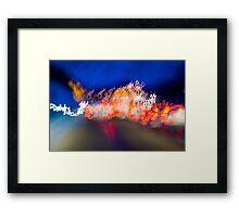Light abstract Framed Print