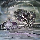 'St Baglan's Church, Llanfaglan' by Martin Williamson (©cobbybrook)