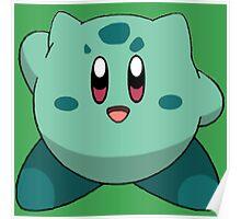 Bulbasaur | Kirby Edition Poster