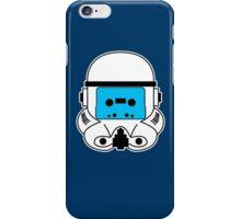 Cassette Trooper - Blue iPhone Case/Skin