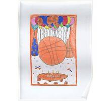 Birthday Basketball Poster
