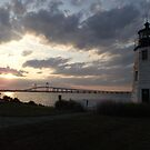 Goat Island Light by endomental Artistry