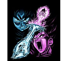 Goku and Vegeta Photographic Print
