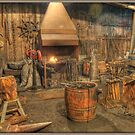 Blacksmith's Shop by Tracy Riddell