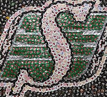 The Roughriders - Bottle Cap Mosaic by JAMbottlecapart