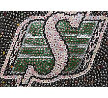 The Roughriders - Bottle Cap Mosaic Photographic Print