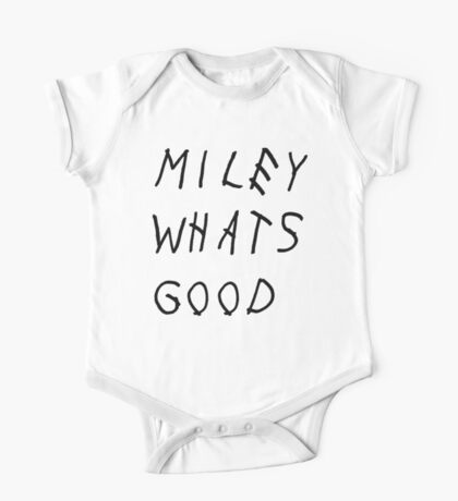 MILEY WHATS GOOD One Piece - Short Sleeve