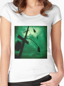 Shoes and Wires Women's Fitted Scoop T-Shirt