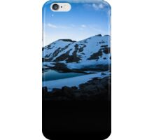 Tranquil Lake Sunset iPhone Case/Skin