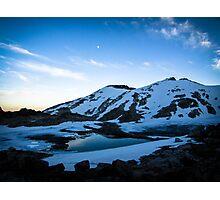 Tranquil Lake Sunset Photographic Print