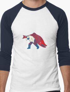 Big Fish Men's Baseball ¾ T-Shirt